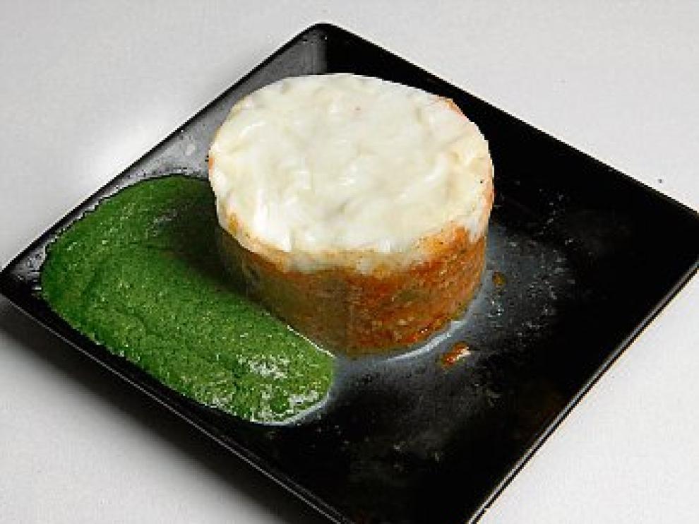 Musaka de ternasco de El Morrudo, adheridos a la Red sin gluten.