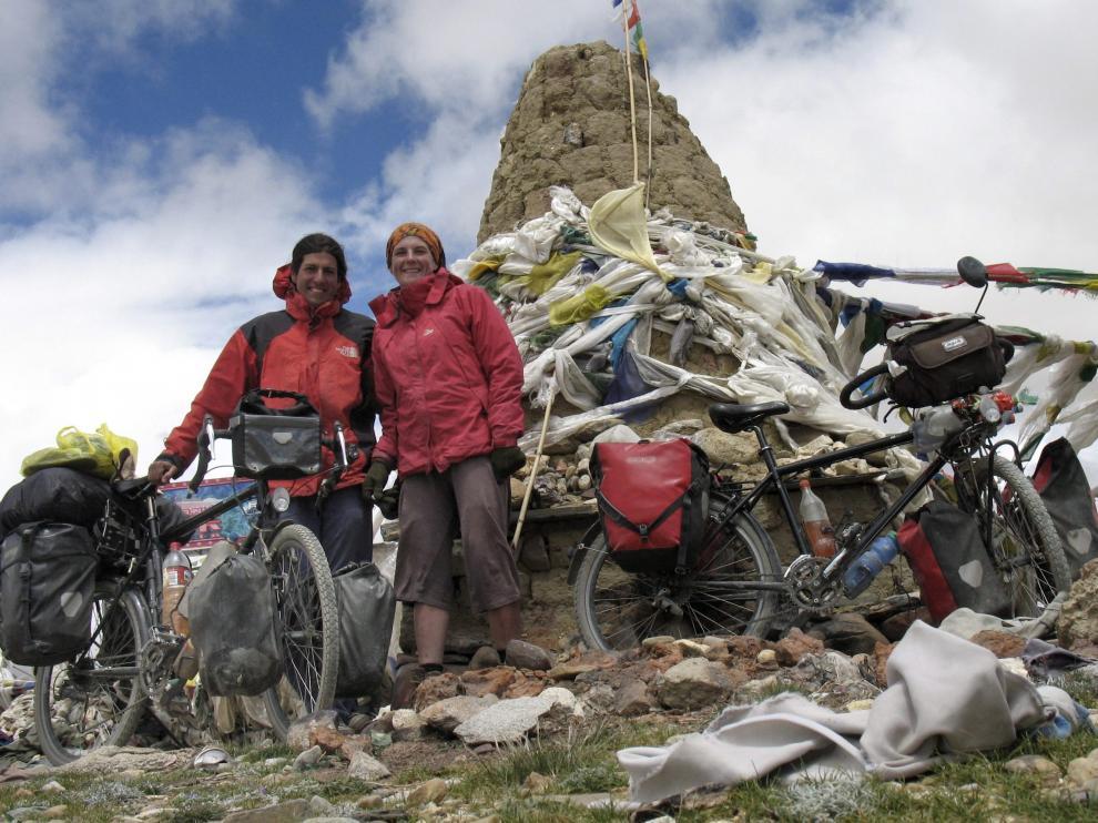 Andoni y Alice, en el Tibet