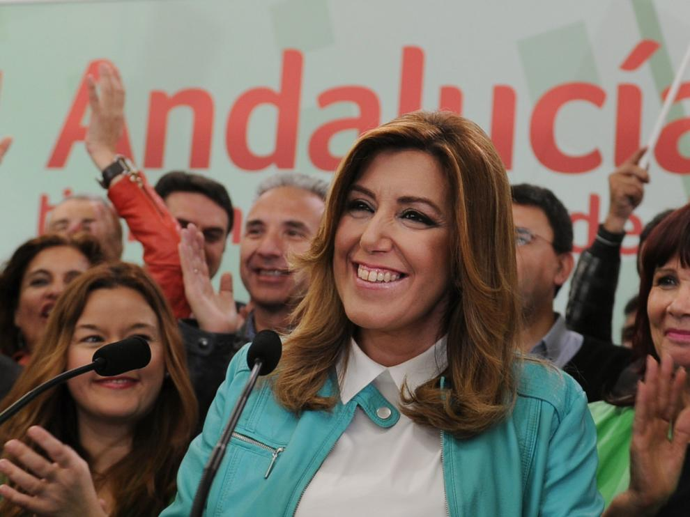 Susana Díaz, candidata del PSOE