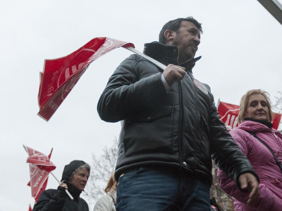 Manifestación por el '3+2' en Zaragoza