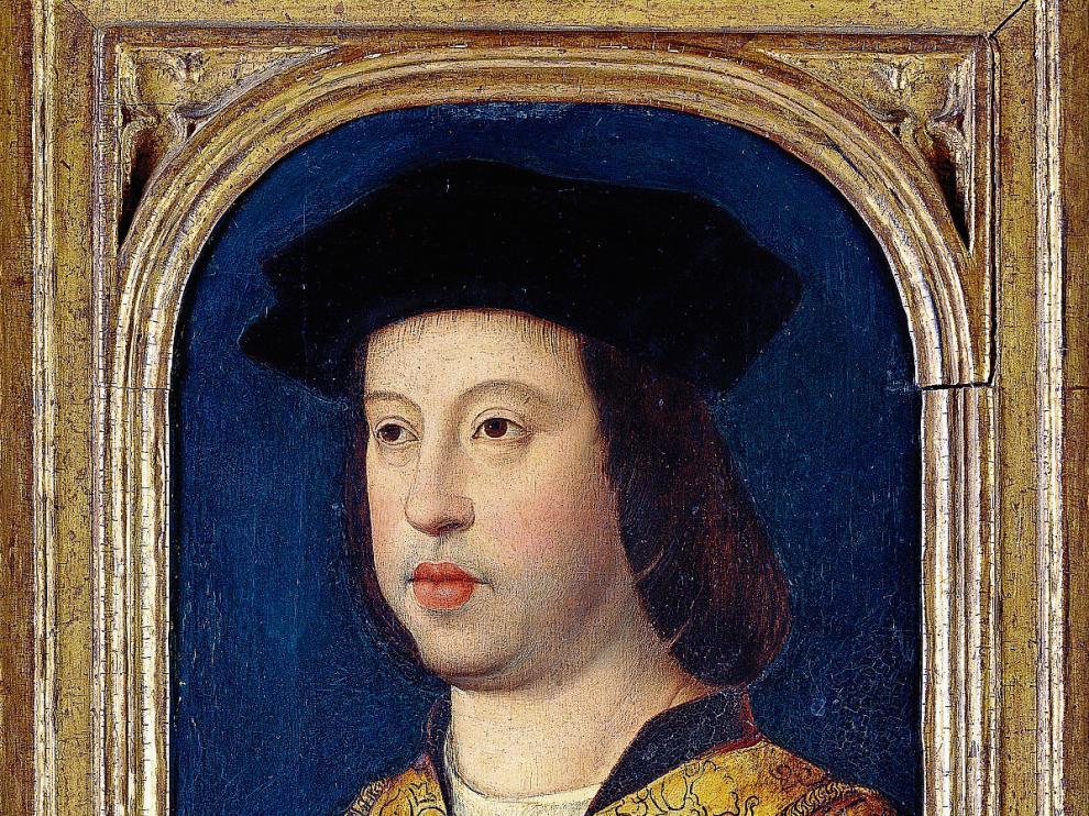 El retrato de Fernando II que se verá en Zaragoza. The Royal Collection Trust/@ Her Majesty Queen elizabeth Ii 2015