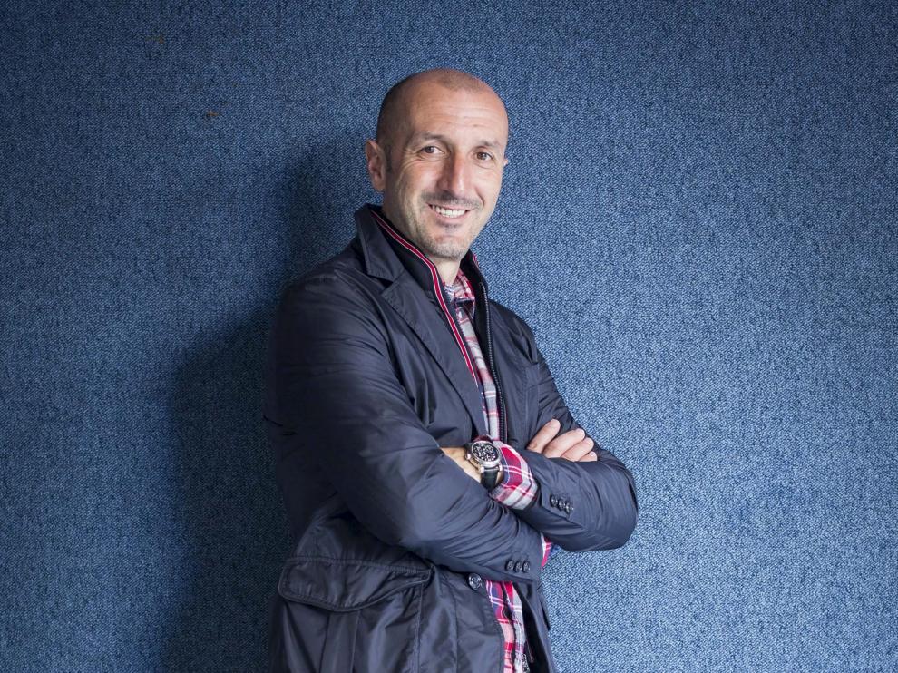 Ranko Popovic, antes de la entrevista concedida a HERALDO.