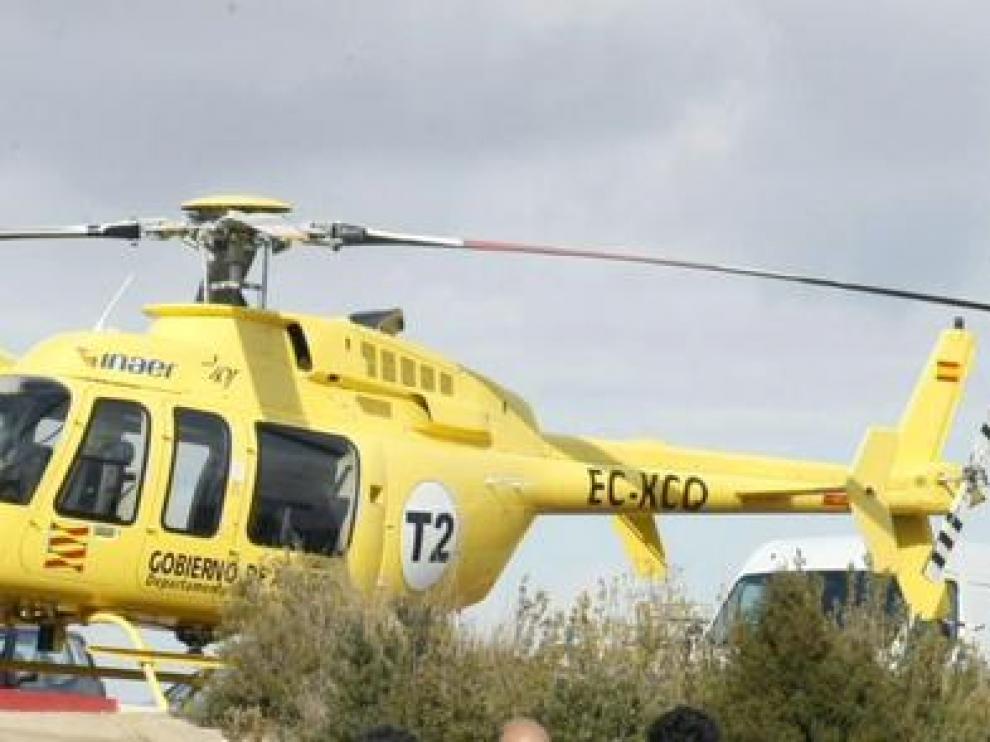 La Comarca de Teruel proyecta construir 20 nuevos helipuertos