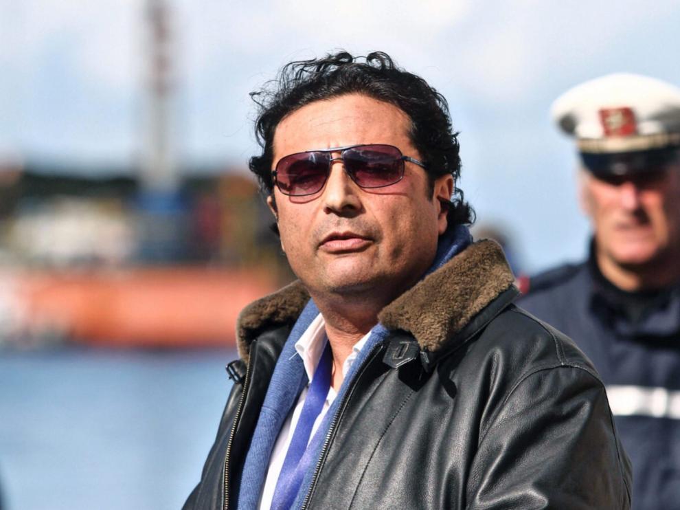 Foto archivo de Schettino, sentenciado el 11 de febrero a 16 años y un mes de prisión.