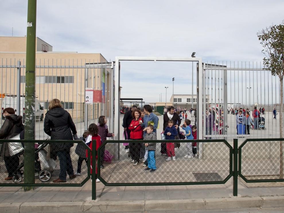 Colegio Valdespartera, uno de los más demandados