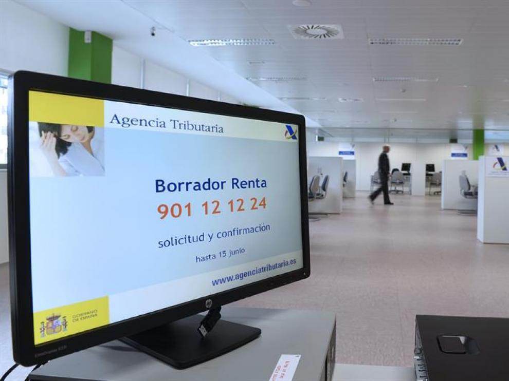 Una de las oficinas de la Agencia Tributaria en Castilla y León