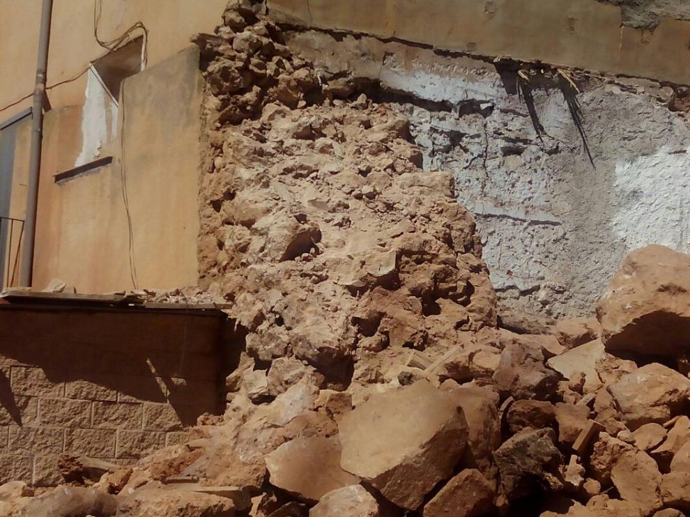Muralla medieval de Ariza, ahora derruida