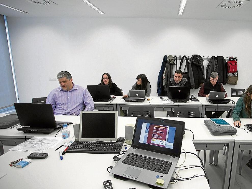 Cuatro talleres de empleo para emprendedores finalizaron este viernes.