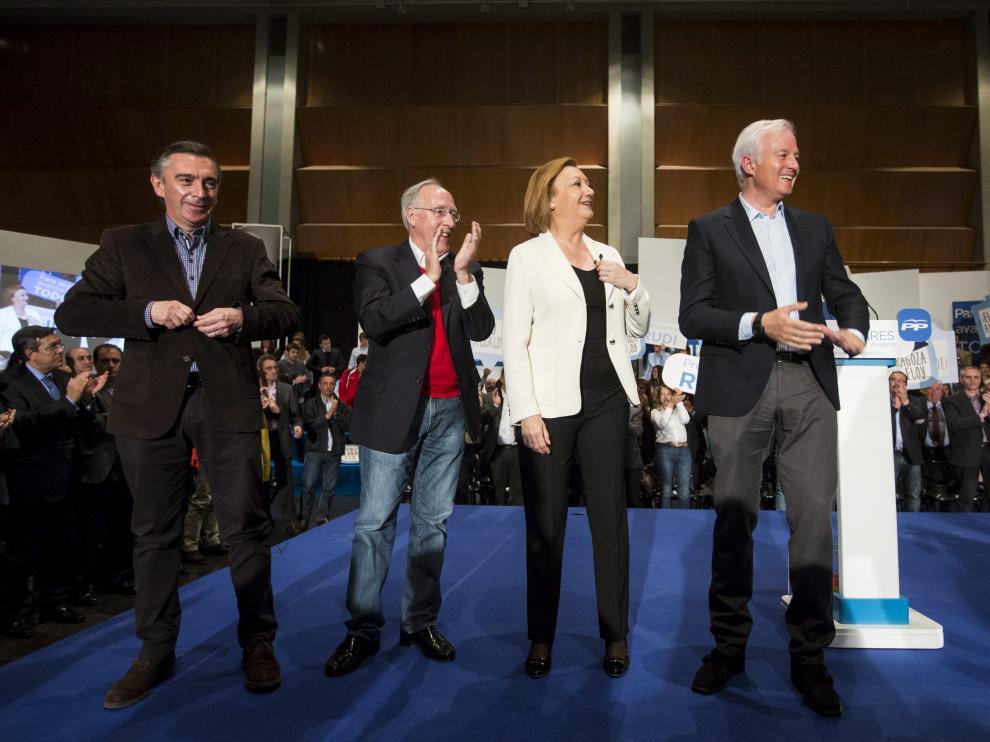 Presentación de la candidatura de Eloy Suárez en Zaragoza