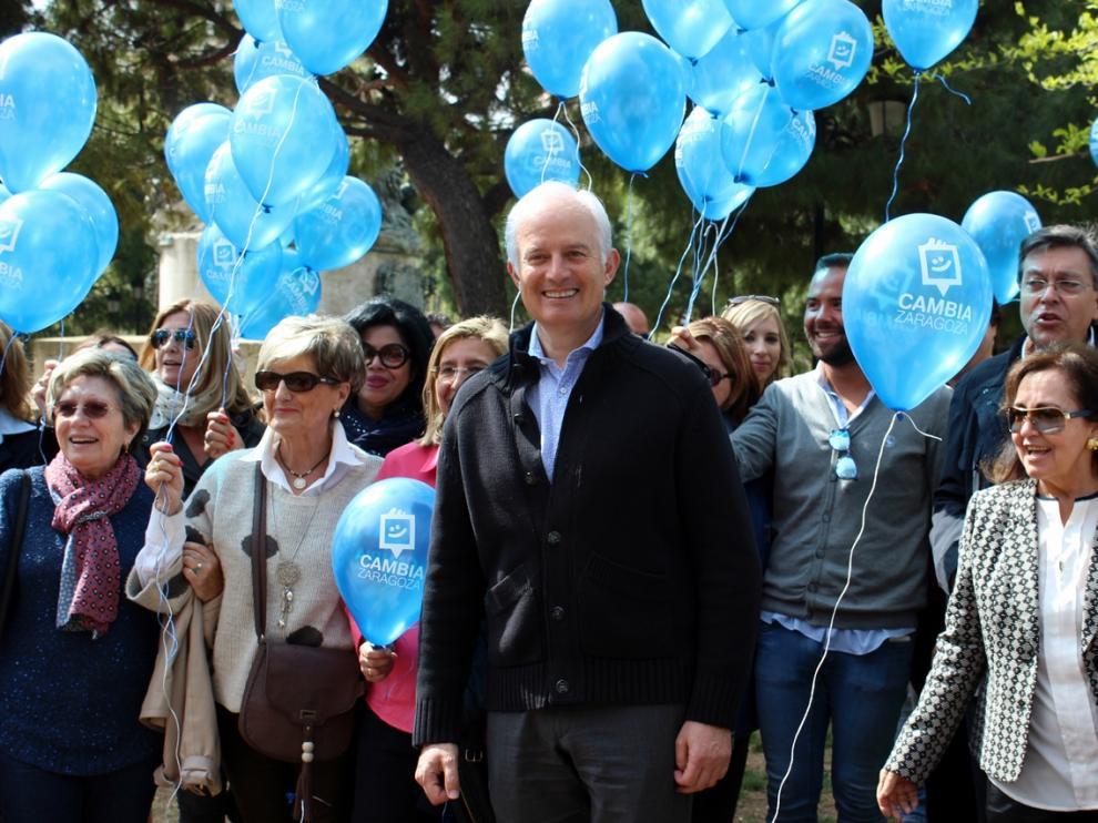 Imagen del acto del PP celebrado este domingo