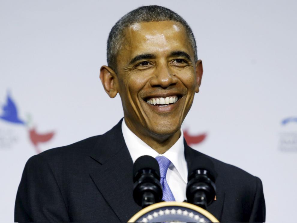 Obama, durante su discurso en Panamá