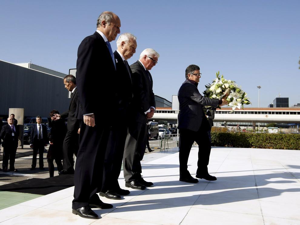 Foto de archivo de un homenaje a las víctimas en Barcelona