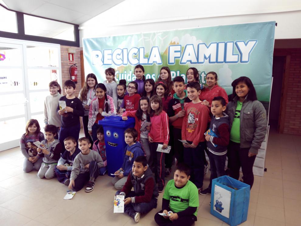Más de 4.000 alumnos de cuatro comarcas se apuntan al reciclaje