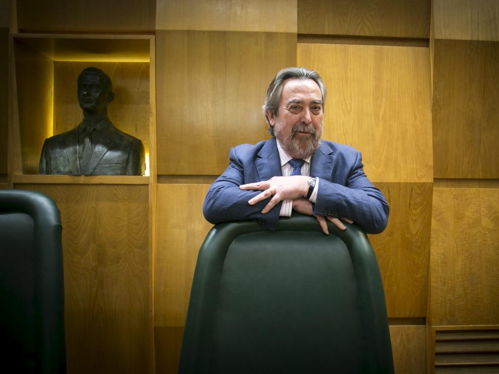 Juan Alberto Belloch en un pleno reciente. (Archivo)
