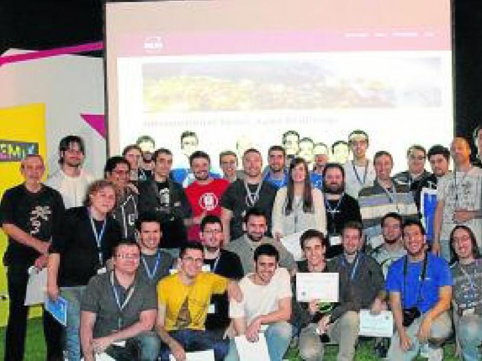 Participantes en la anterior edición de Space Apps Zaragoza.