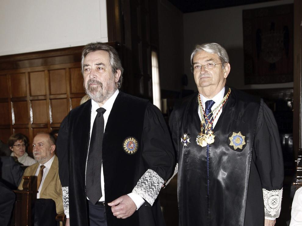 Belloch tras tomar posesión en la Audiencia Provincial