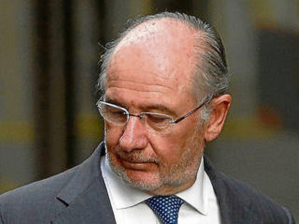 Rodrigo Rato, expresidente de Caja Madrid y Bankia.