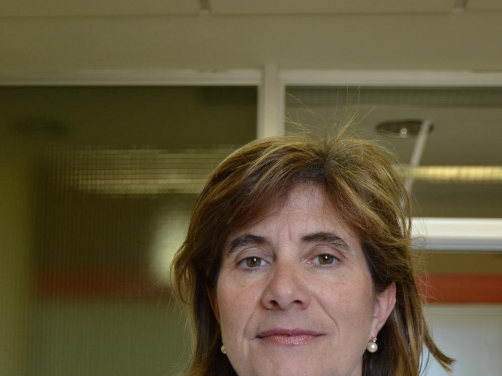 La doctora Trinidad Serrano, del servicio de Digestivo del Hospital Clínico Lozano Blesa de Zaragoza.