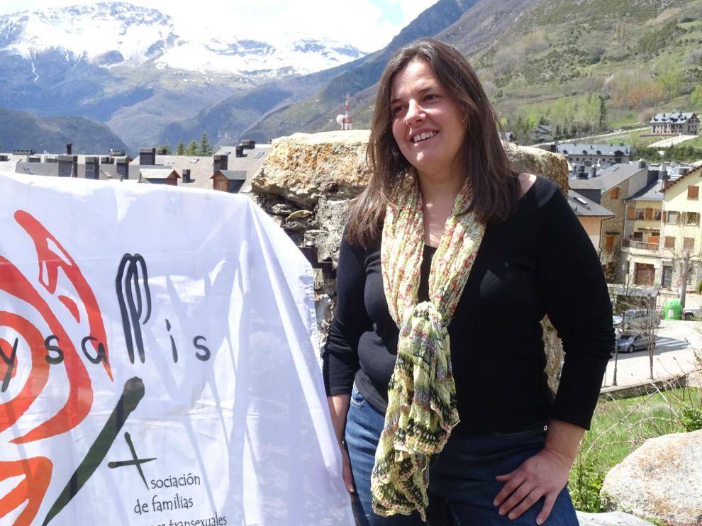 Natalia Aventín, madre de un menor transexual y presidenta de Chrysallis