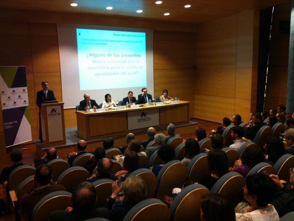 Asamblea General de Novaltia del pasado año, celebrada en Zaragoza.