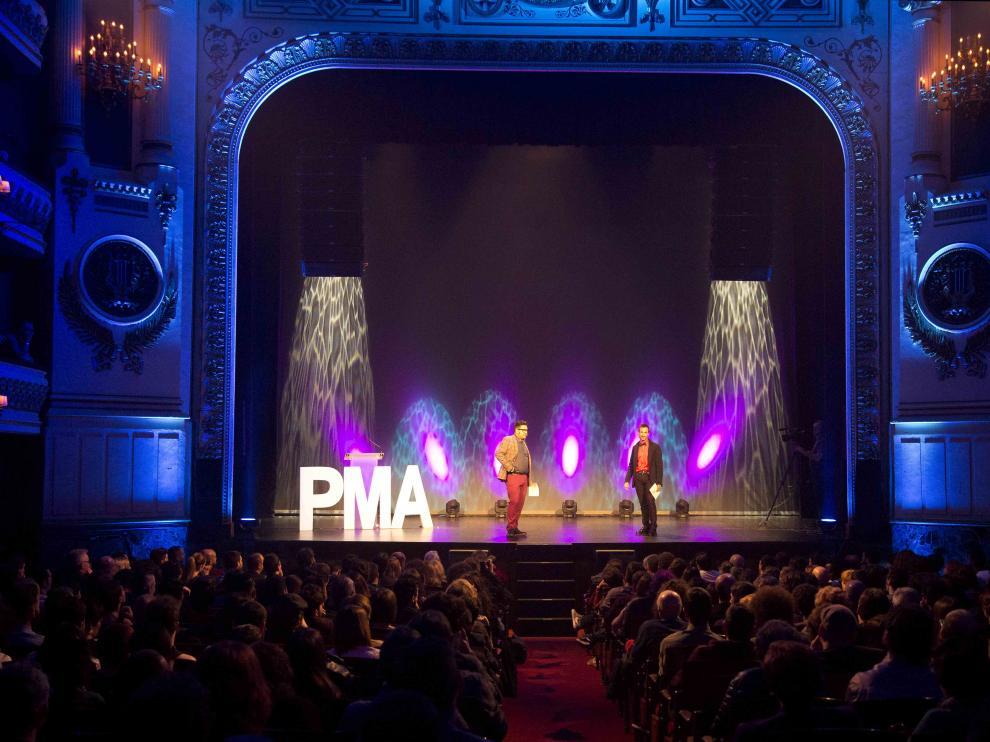 Premios de la Música Aragonesa, imagen de archivo.