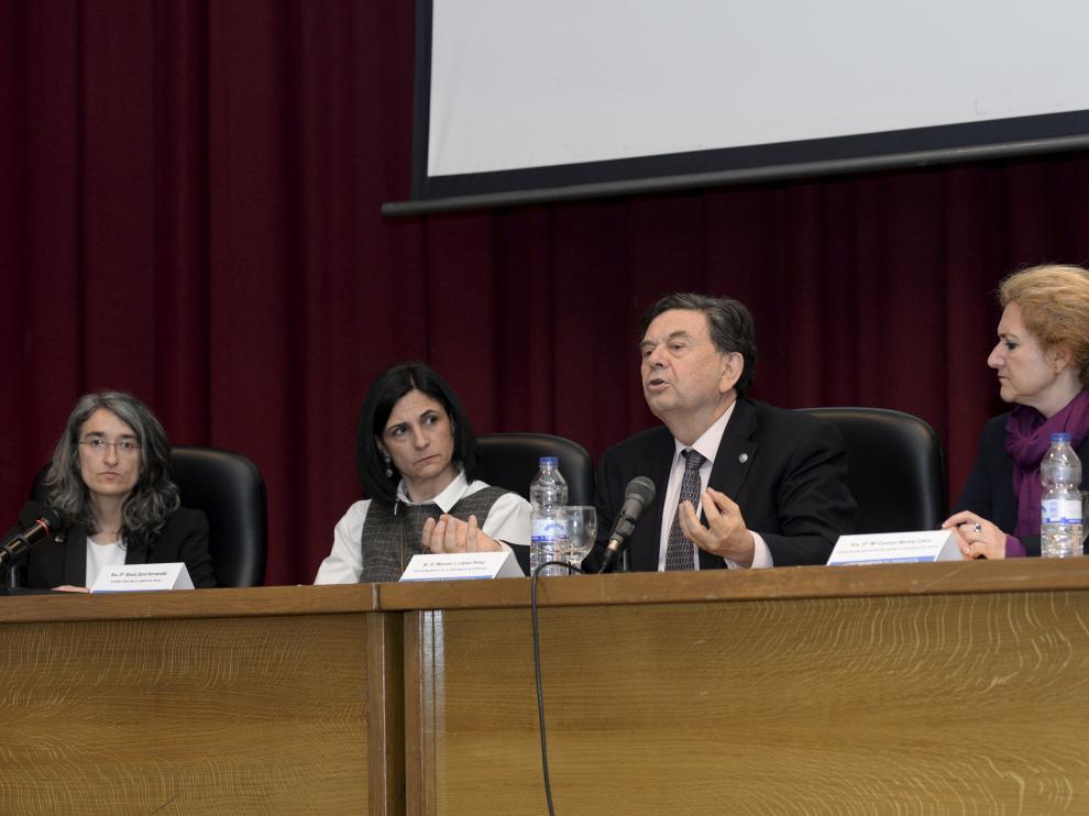 Manuel López, Rector Universidad Zaragoza
