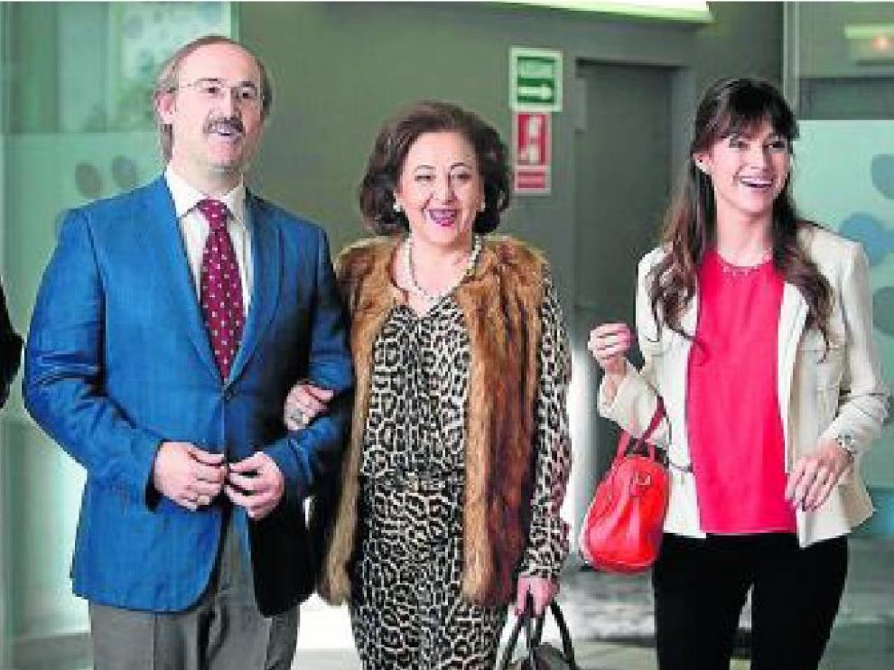 Javier Cámara, Carmen Machi y Blanca Suárez, en 'Perdiendo el norte'.