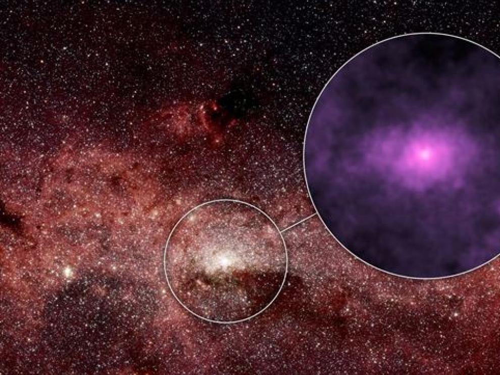 La NASA capta los 'aullidos' de las estrellas zombies