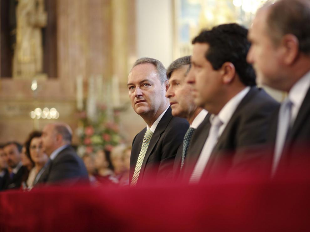 Alberto Fabra en los actos en honor a la patrona de Castellón la Verge del Lledó