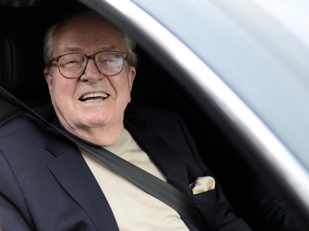 Jean-Marie Le Pen en una foto de archivo