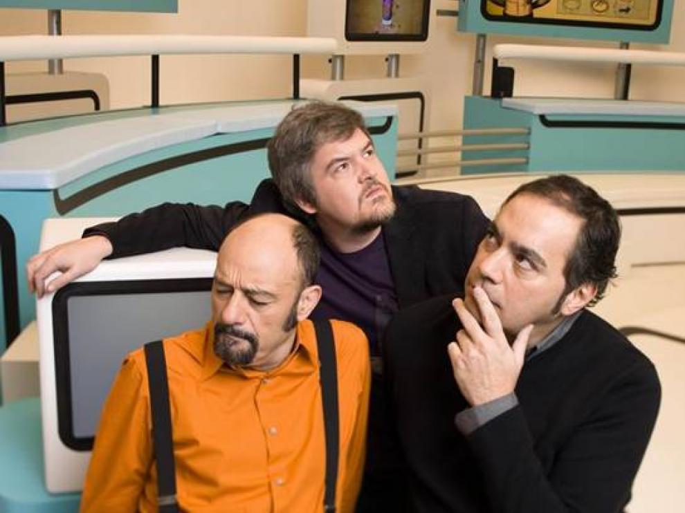 Javier Coronas, Javier Cansado y Pepe Colubi