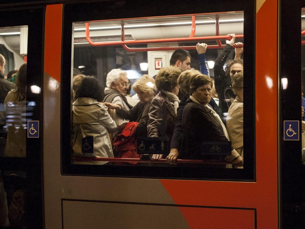 La saturación del tranvía es una de las cuestiones que hay que solventar según la Fabz