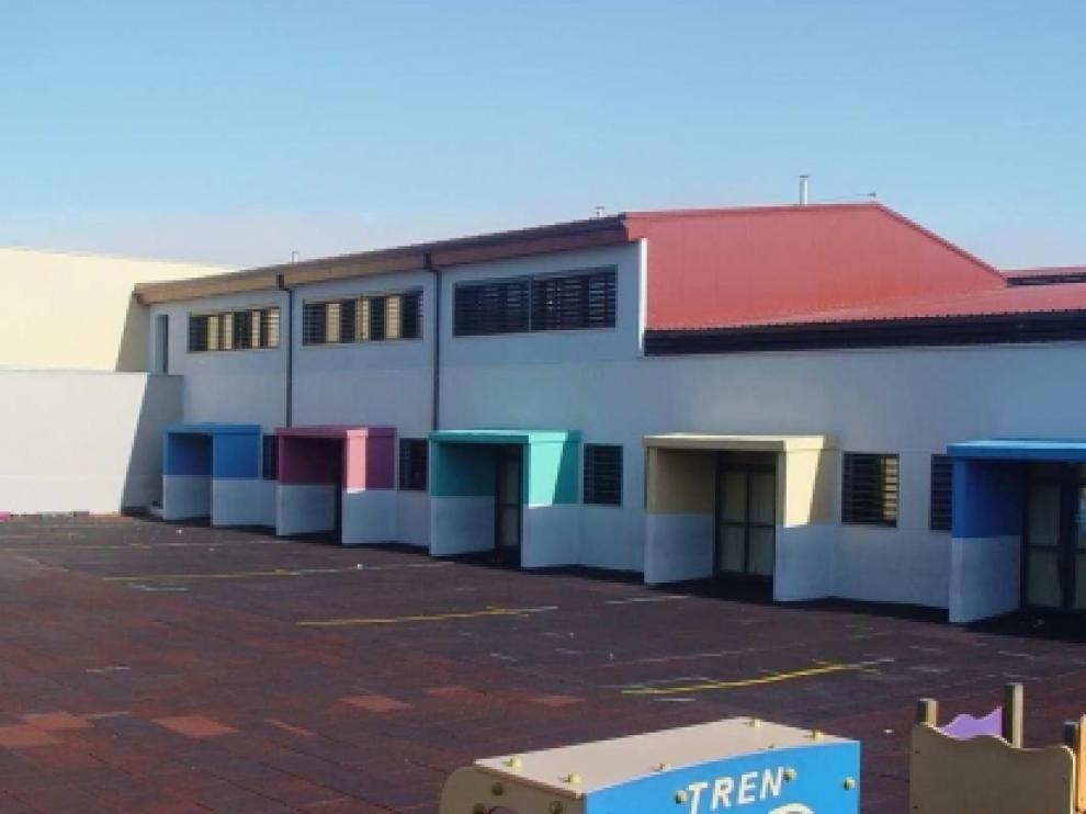 Imagen del colegio Gil Tarín de La Muela.