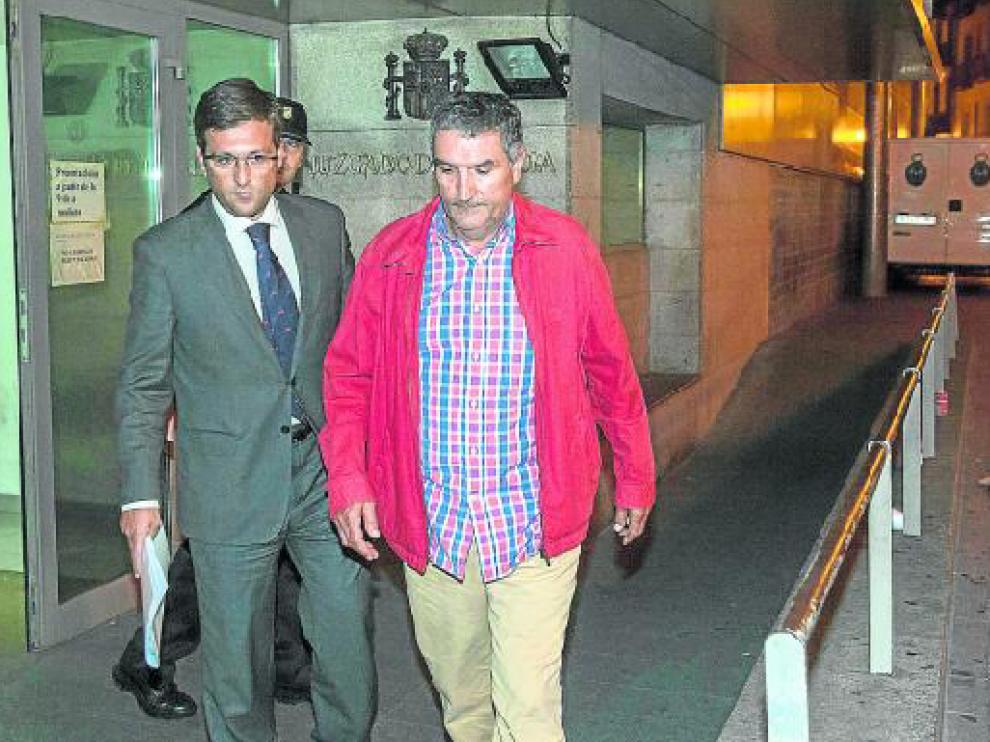 El exgerente de Plaza, Ricardo García Becerril, la primera vez que fue detenido en agosto de 2013
