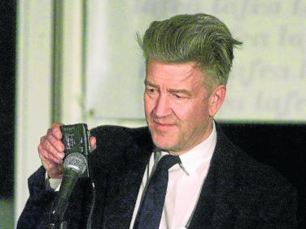 El director de cine David Lynch, 'alma mater' de 'Twin Peaks'.