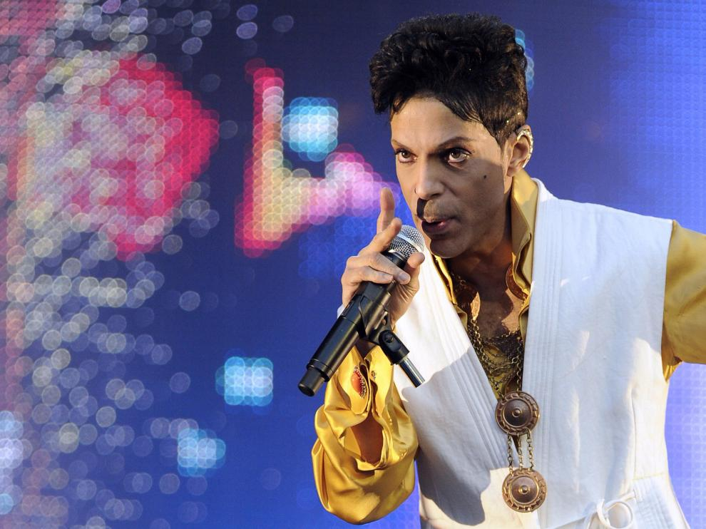 Imagen de archivo del artista Prince.