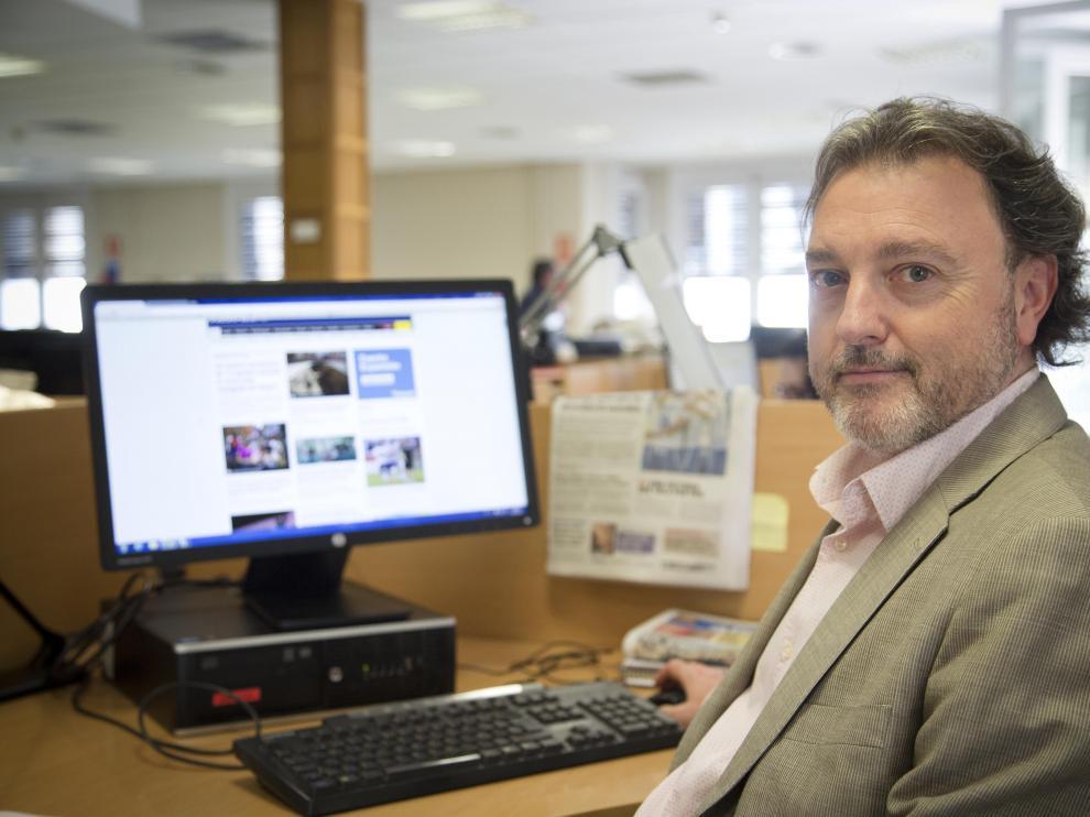 José Luis Lajara, el candidato de UPyD a la Presidencia del Gobierno de Aragón