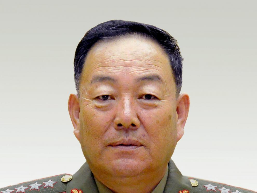 Fotografía sin fechar que muestra al general del Ejército norcoreano supuestamente ejecutado.