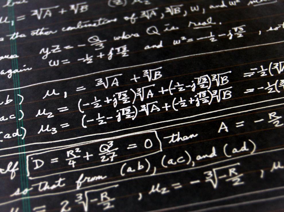 Un acertijo matemático que se puede resolver en menos de cinco minutos.