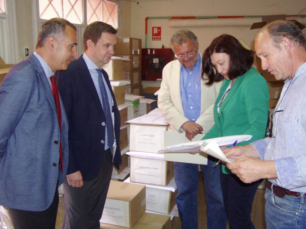 La subdelegada del Gobierno en la provincia, María José Heredia, ha presentado este jueves el dispositivo para las elecciones locales y autonómicas