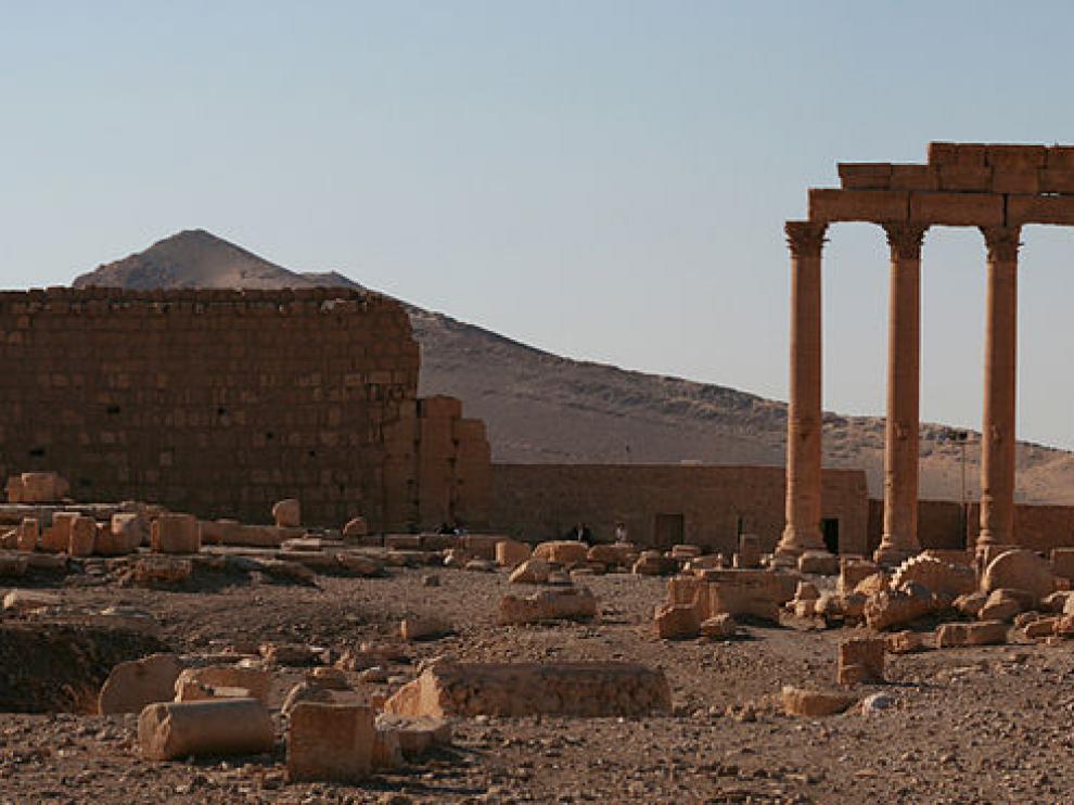 Ruinas de la ciudad de Palmira