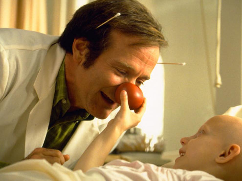 Fotograma de la película 'Patch Adams', protagonizada por Robin Williams.