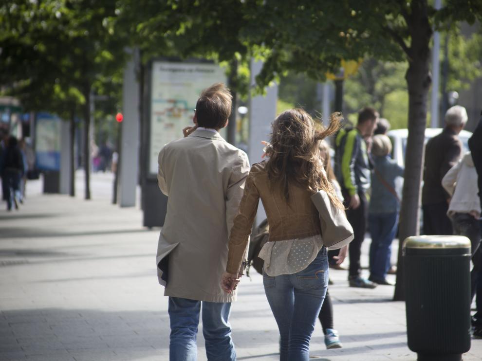 Activada la alerta amarilla por vientos en tres zonas en Aragón