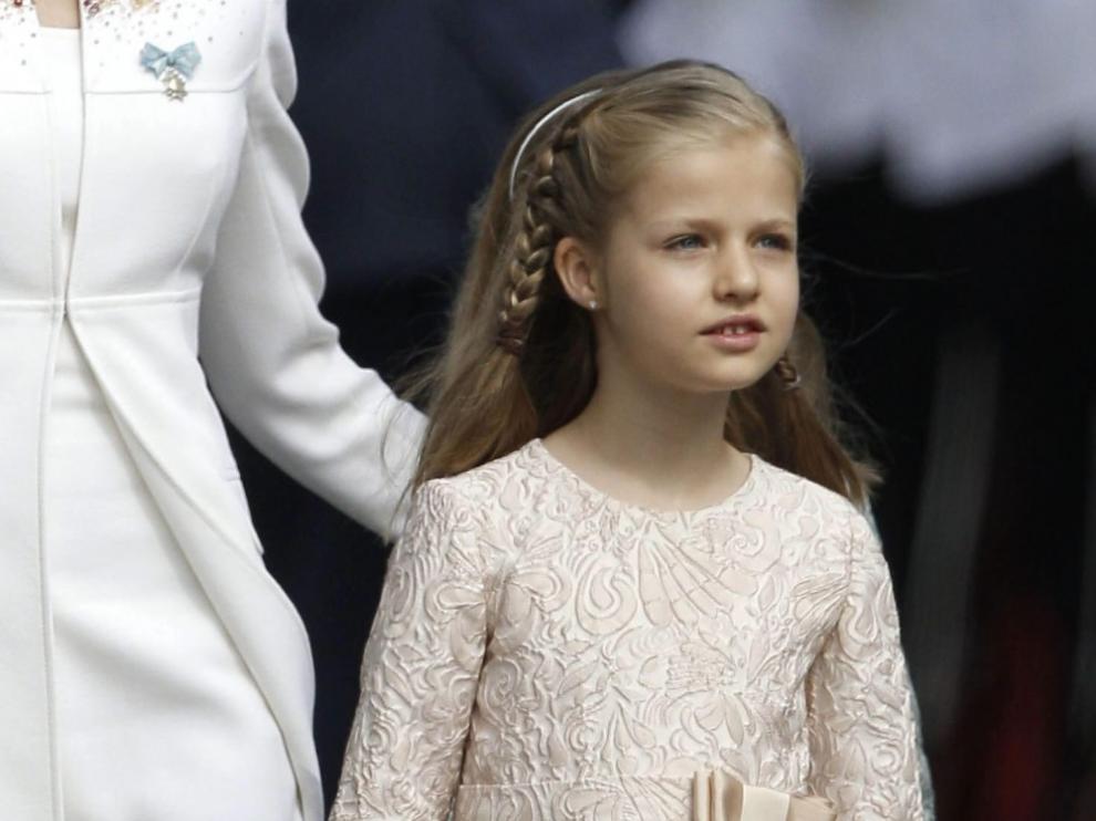 La Princesa de Asturias, la Infanta Leonor,