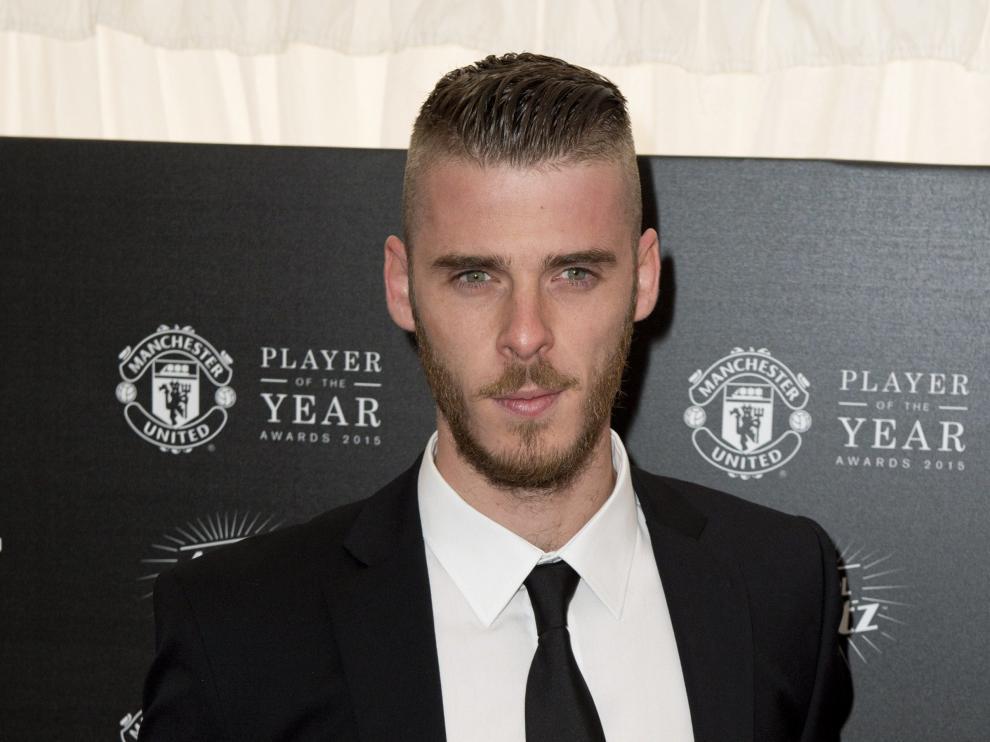 El guardameta del Manchester United, David de Gea.