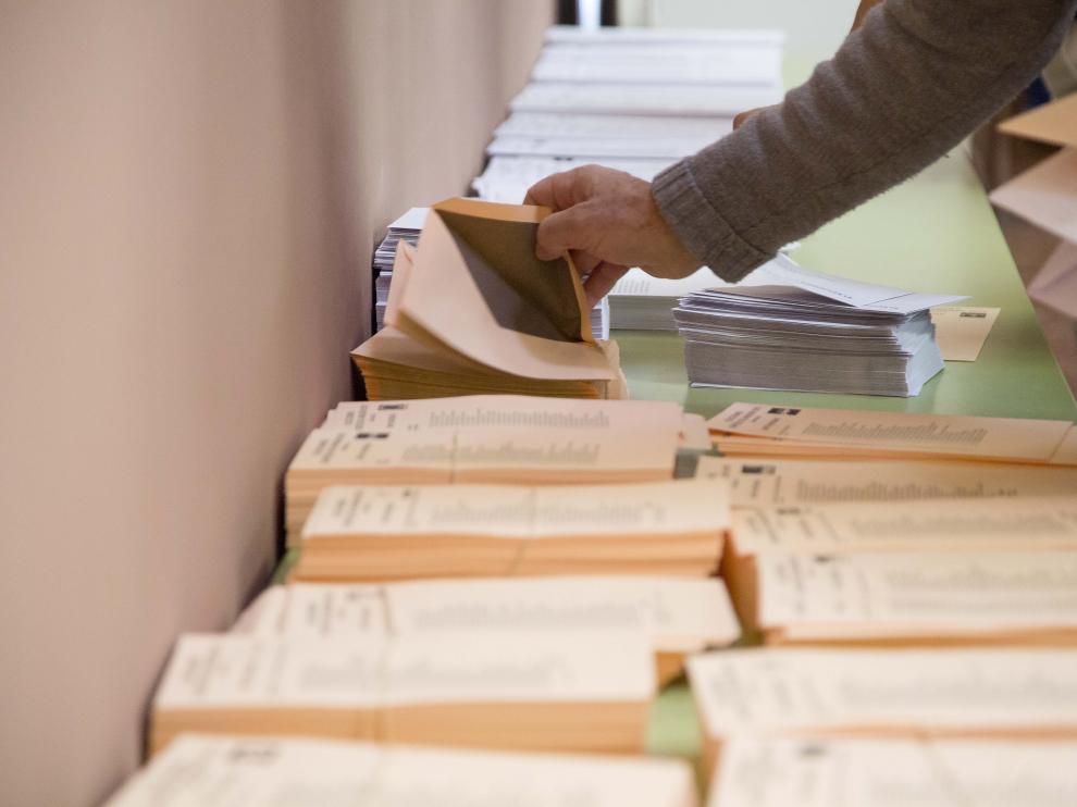 Uno de los gastos que habrá que acometer de nuevo: la impresión de papeletas.