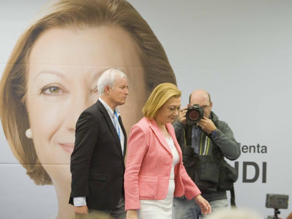 Suárez y Rudi, tras conocer los resultados electorales de este 24-M