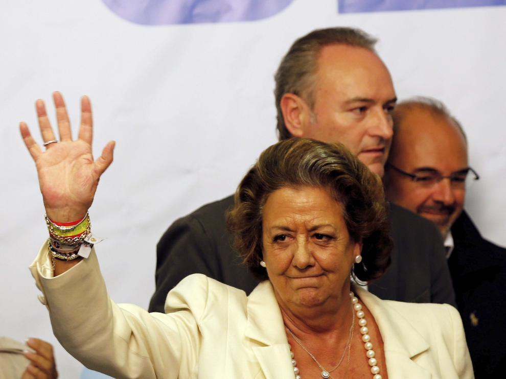 Rita Barberá tras las elecciones. (Archivo)