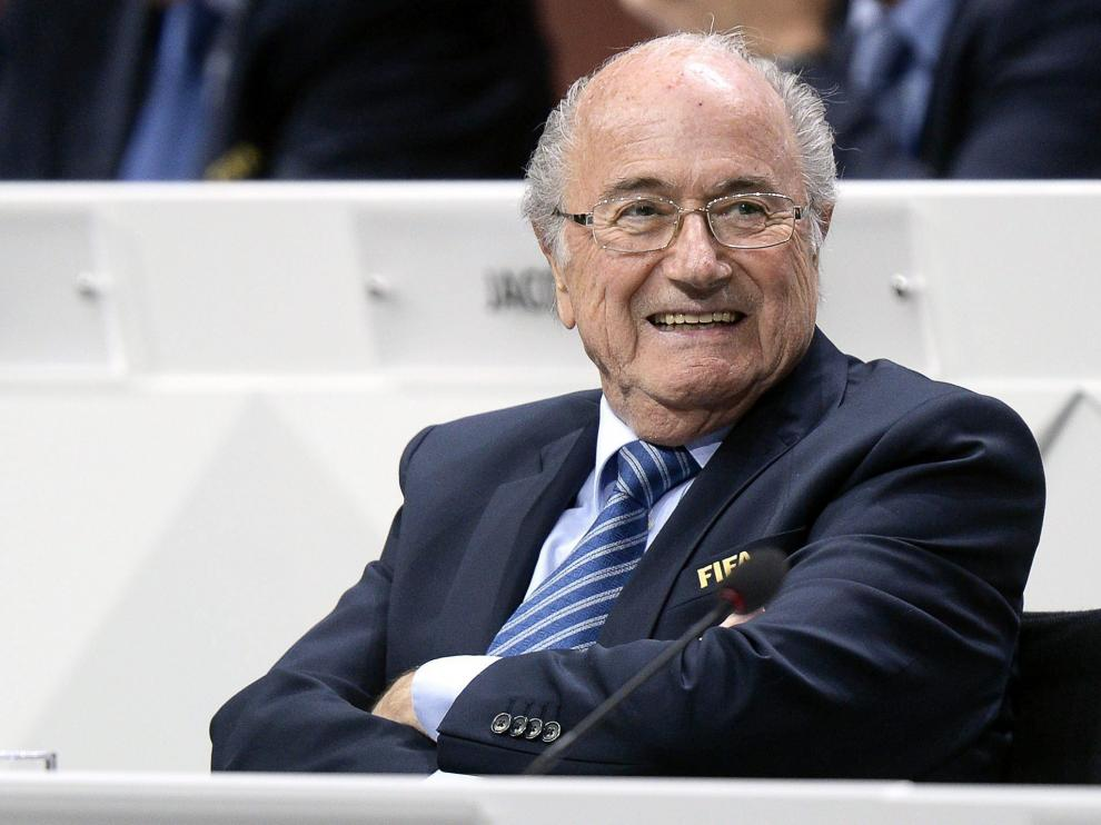 El expresidente de la FIFA, Joseph Blatter.