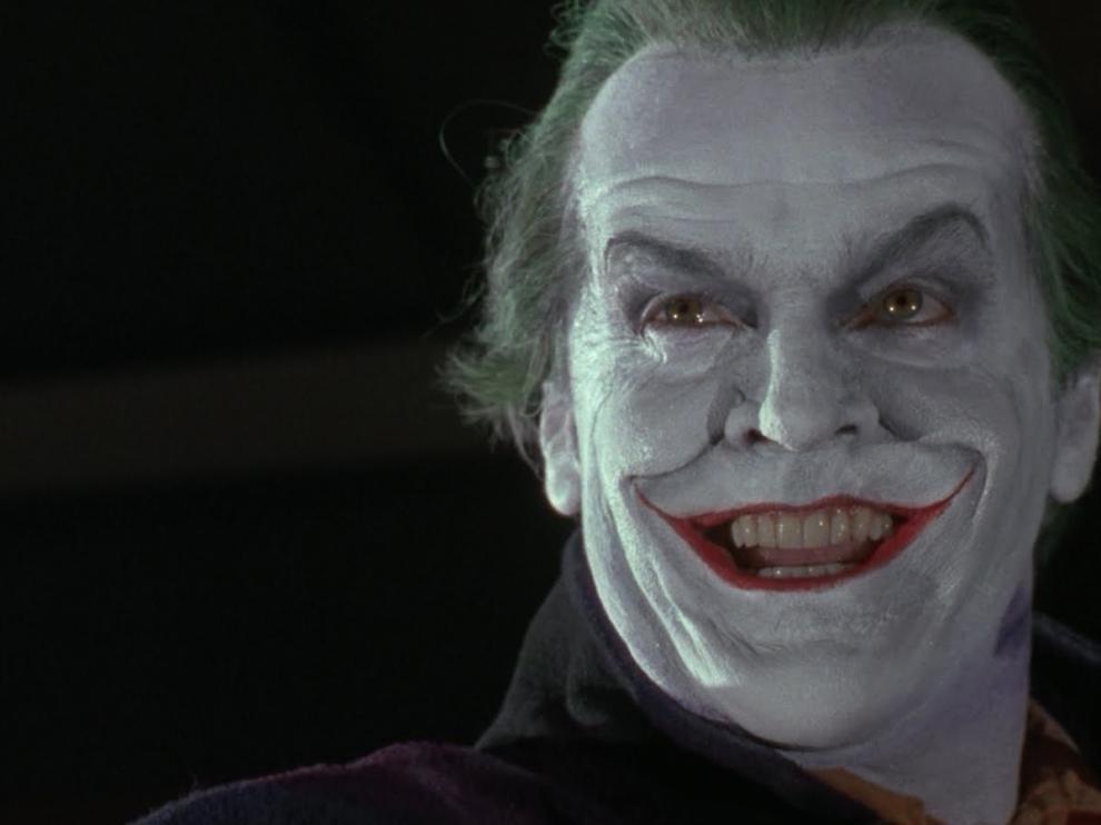 El Joker, uno de los grandes villanos de la historia del cine.